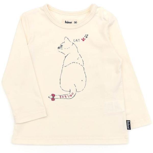 あすつく 子供服 女の子 キムラタン Bobson ボブソン  Tシャツ(長袖) 80 90 95 100 110 120 130 綿100% baby-kids-kimuratan 15