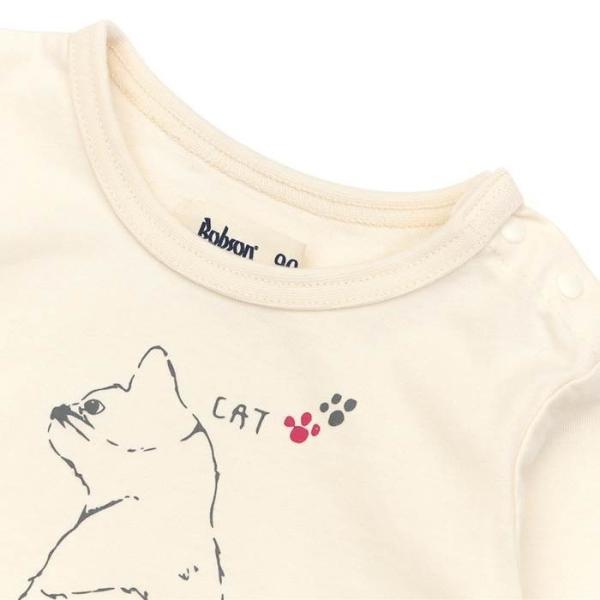 あすつく 子供服 女の子 キムラタン Bobson ボブソン  Tシャツ(長袖) 80 90 95 100 110 120 130 綿100% baby-kids-kimuratan 03