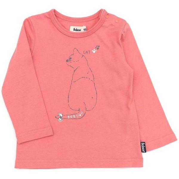 あすつく 子供服 女の子 キムラタン Bobson ボブソン  Tシャツ(長袖) 80 90 95 100 110 120 130 綿100% baby-kids-kimuratan 16