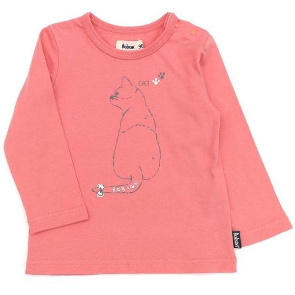 あすつく 子供服 女の子 キムラタン Bobson ボブソン  Tシャツ(長袖) 80 90 95 100 110 120 130 綿100% baby-kids-kimuratan 08