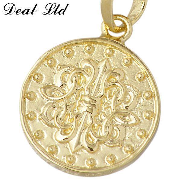 DEAL LTD ディールエルティーディー ゴールド ペンダントトップ メンズ レディース K10 コイン DEAL DESIGN ディールデザイン