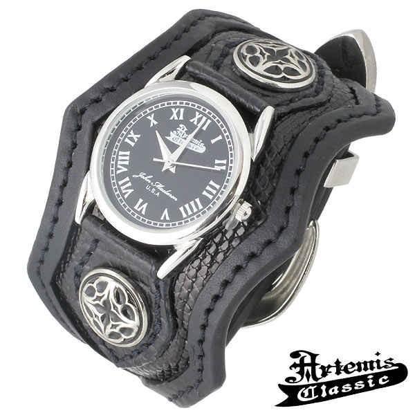 Artemis Classic アルテミスクラシック ウォッチ 時計 トレサリー スリーピース ブレス ブラックリザード|baby-sies