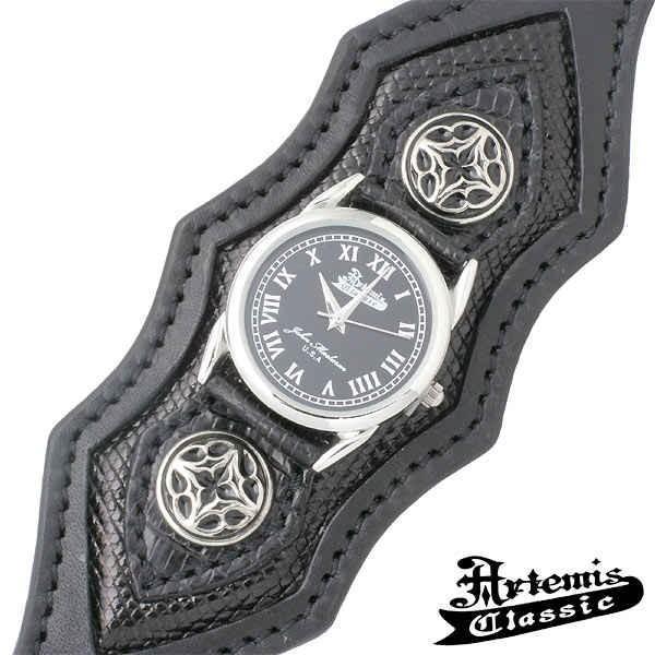 Artemis Classic アルテミスクラシック ウォッチ 時計 トレサリー スリーピース ブレス ブラックリザード|baby-sies|03