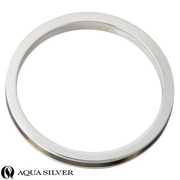 AQUA SILVER アクアシルバー シルバー リング 指輪 メンズ レディース シェル 3〜21号