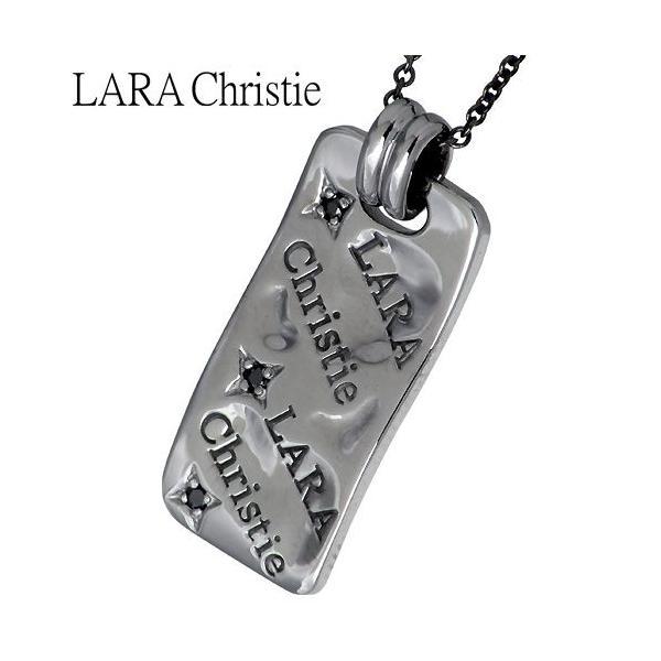 LARA Christie ララクリスティー シルバー ネックレス ペアー バベル キュービックジルコニア baby-sies 03