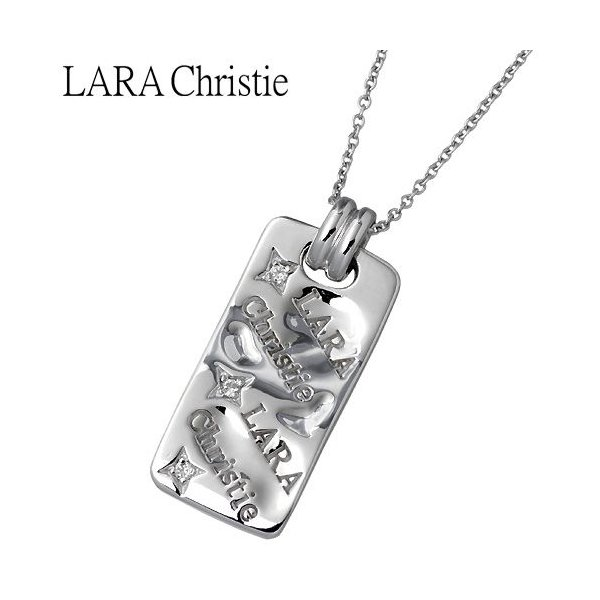 LARA Christie ララクリスティー シルバー ネックレス レディース バベル キュービックジルコニア|baby-sies
