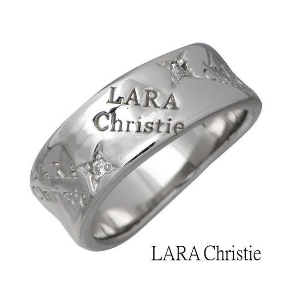 LARA Christie ララクリスティー シルバー リング 指輪 レディース バベル キュービックジルコニア baby-sies