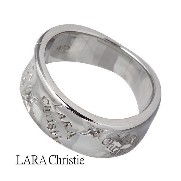 LARA Christie ララクリスティー シルバー リング 指輪 レディース バベル キュービックジルコニア baby-sies 03