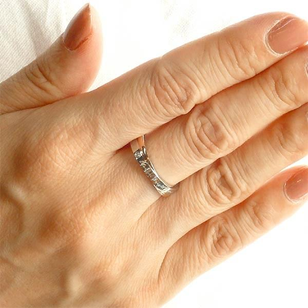 Sepia セピア ステンレス リング 指輪 金属アレルギー対応 ダイヤモンド ペア 7〜13号 13〜21号 医療用サージカル316L