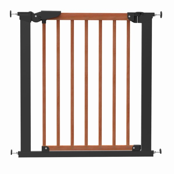 ベビーゲート 突っ張り 簡単設置 木製 セイフティーゲート ベビーダン babydan 黒 アバンギャルド|babydan|03