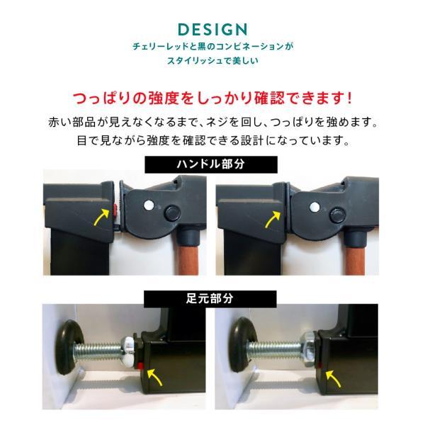 ベビーゲート 突っ張り 簡単設置 木製 セイフティーゲート ベビーダン babydan 黒 アバンギャルド|babydan|07