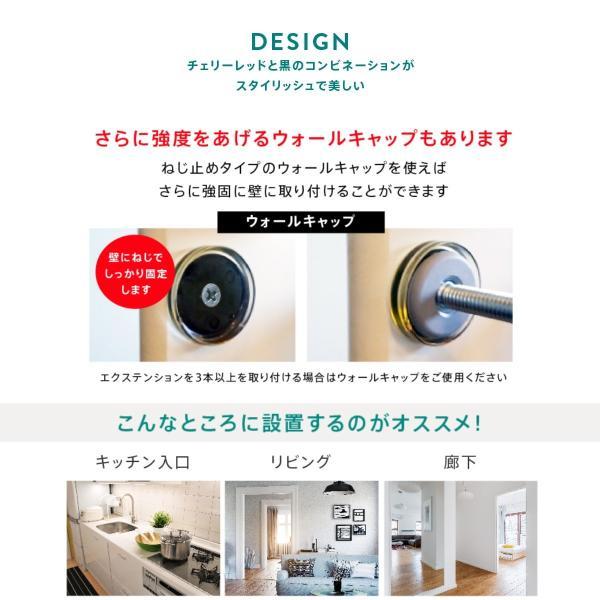 ベビーゲート 突っ張り 簡単設置 木製 セイフティーゲート ベビーダン babydan 黒 アバンギャルド|babydan|08