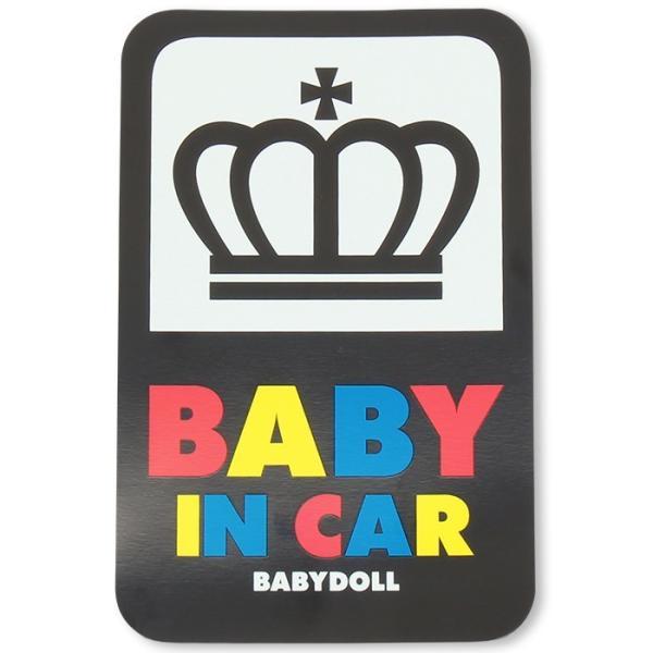 5e0a4f1573585 ... ベビードール BABYDOLL 子供服 セーフティサイン カーステッカー(マグネット)-車装飾 車 ...