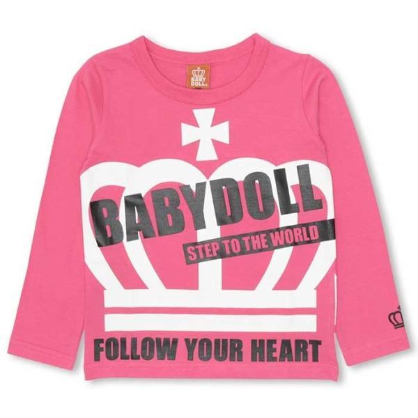 50%OFF SALE ベビードール BABYDOLL 子供服 BIG王冠ロンT キッズ-9474K|babydoll-y|07