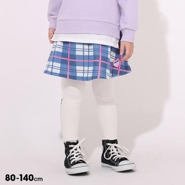 税抜990円 SALE ベビードール BABYDOLL 子供服 スカート チェック柄 0827K ベビーサイズ キッズ 女の子