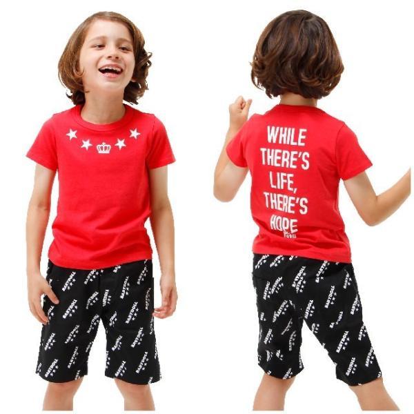50%OFF SALE ベビードール BABYDOLL 子供服 親子ペア STAR Tシャツ 男の子 女の子 キッズ ジュニア 1116K|babydoll-y|11