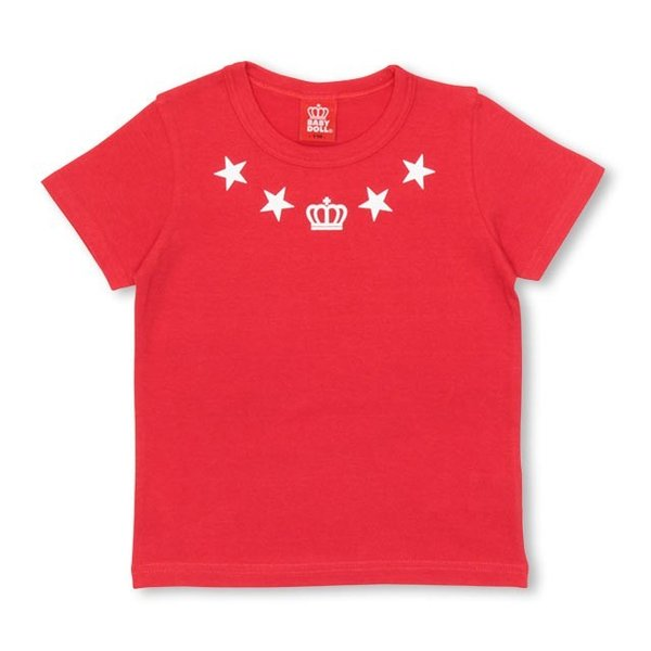 50%OFF SALE ベビードール BABYDOLL 子供服 親子ペア STAR Tシャツ 男の子 女の子 キッズ ジュニア 1116K|babydoll-y|04