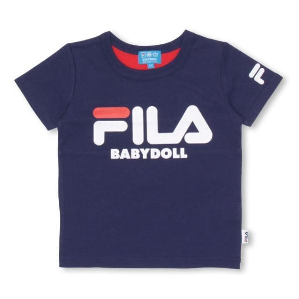 30%OFF SALE ベビードール BABYDOLL 子供服 ドラえもん FILA バックキャラ Tシャツ 男の子 女の子 ベビーサイズ キッズ-1205K|babydoll-y|02