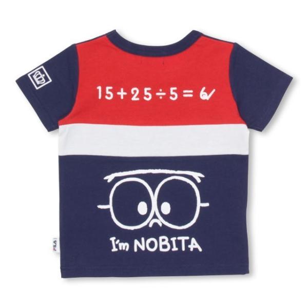 30%OFF SALE ベビードール BABYDOLL 子供服 ドラえもん FILA バックキャラ Tシャツ 男の子 女の子 ベビーサイズ キッズ-1205K|babydoll-y|03