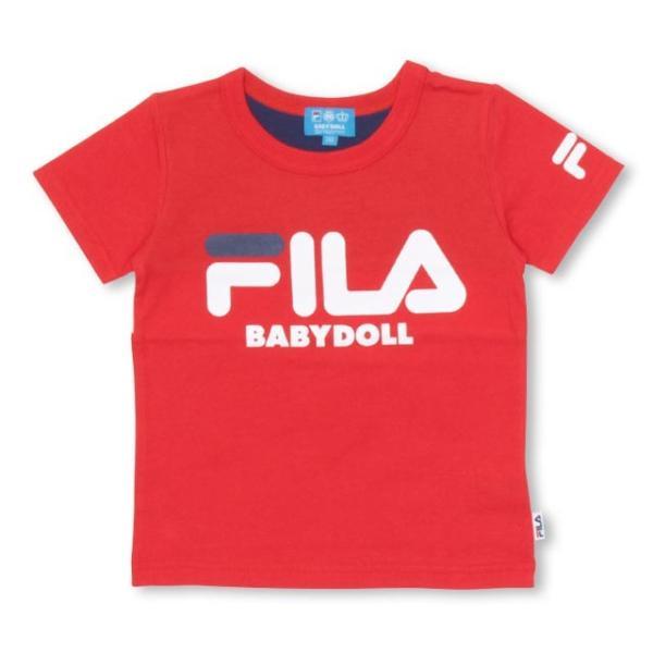 30%OFF SALE ベビードール BABYDOLL 子供服 ドラえもん FILA バックキャラ Tシャツ 男の子 女の子 ベビーサイズ キッズ-1205K|babydoll-y|04