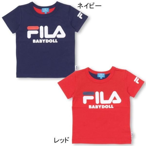 30%OFF SALE ベビードール BABYDOLL 子供服 ドラえもん FILA バックキャラ Tシャツ 男の子 女の子 ベビーサイズ キッズ-1205K|babydoll-y|09