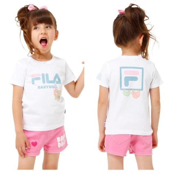 30%OFF SALE ベビードール BABYDOLL 子供服 サンリオ FILA キキララ Tシャツ 女の子 ベビーサイズ キッズ-1216K|babydoll-y|08