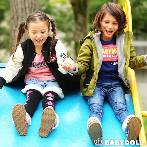 ベビードール BABYDOLL 子供服 プチプラ シンプル デニム ロングパンツ 1597K ベビーサイズ キッズ 男の子 女の子 babydoll-y 11