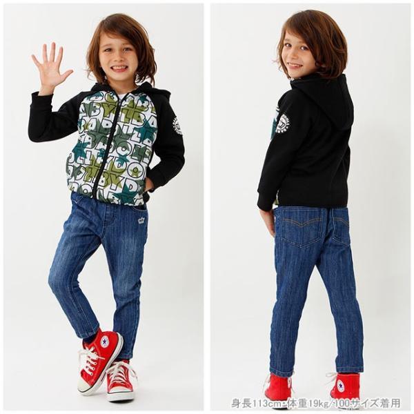 ベビードール BABYDOLL 子供服 プチプラ シンプル デニム ロングパンツ 1597K ベビーサイズ キッズ 男の子 女の子 babydoll-y 08