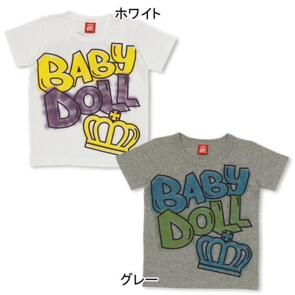 50%OFF SALE ベビードール BABYDOLL 子供服 ラクガキ スプレー Tシャツ 1931K キッズ 男の子 女の子 babydoll-y 02
