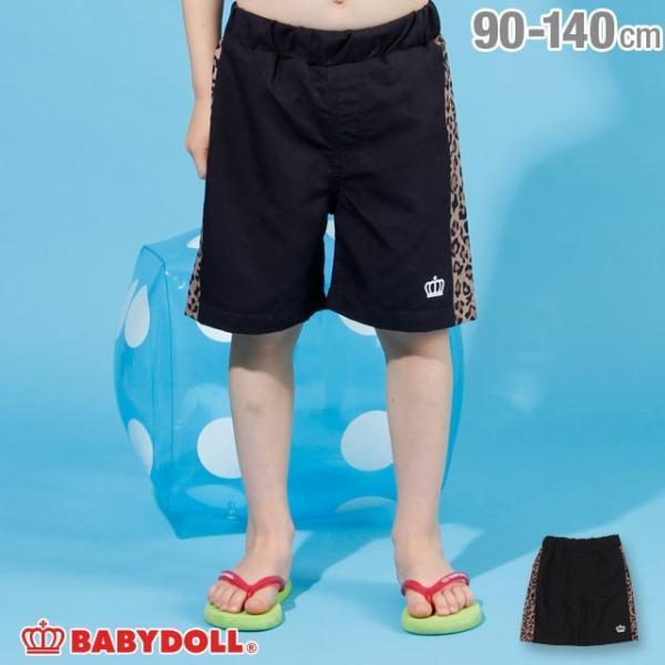 30%OFF SALE ベビードール BABYDOLL 子供服 水着 ヒョウ柄 サーフ トランクス 2210K キッズ 男の子|babydoll-y
