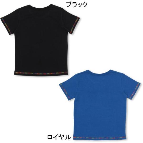 50%OFF SALE ベビードール BABYDOLL 子供服 親子お揃い レインボーステッチ Tシャツ 2268K キッズ 男の子 女の子 babydoll-y 03