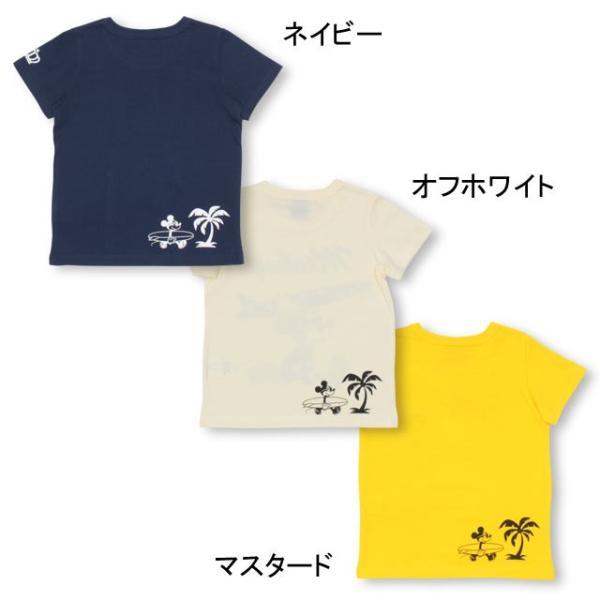 ベビードール BABYDOLL 子供服 親子お揃い ディズニー サーフ Tシャツ 2281K ベビーサイズ キッズ 男の子 女の子 DISNEY|babydoll-y|04