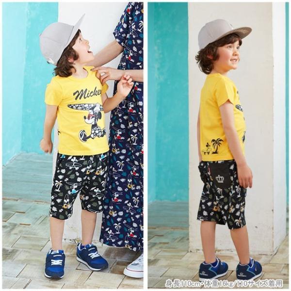 ベビードール BABYDOLL 子供服 親子お揃い ディズニー サーフ Tシャツ 2281K ベビーサイズ キッズ 男の子 女の子 DISNEY|babydoll-y|09
