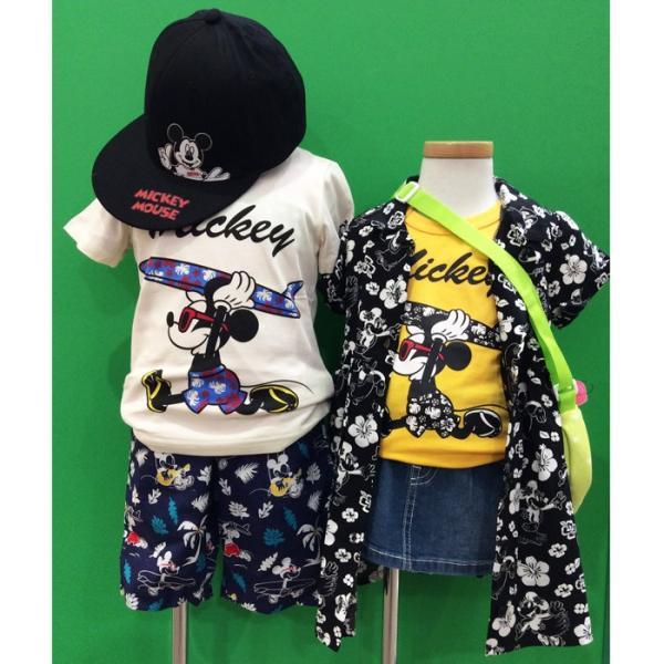 ベビードール BABYDOLL 子供服 親子お揃い ディズニー サーフ Tシャツ 2281K ベビーサイズ キッズ 男の子 女の子 DISNEY|babydoll-y|10