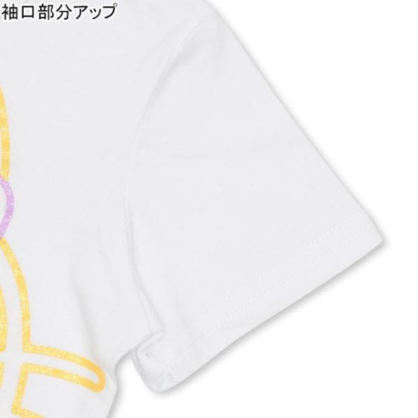 50%OFF SALE ベビードール BABYDOLL 子供服 親子お揃い サンリオ ラメ BIG キャラクター Tシャツ 2290A 大人 レディース メンズ|babydoll-y|06