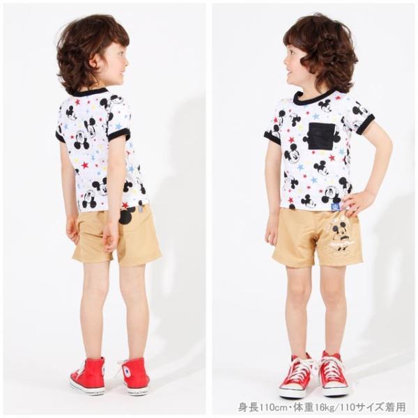 30%OFF SALE ベビードール BABYDOLL 子供服 ディズニー メッシュポケット Tシャツ 2478K キッズ 男の子 女の子 DISNEY|babydoll-y|07