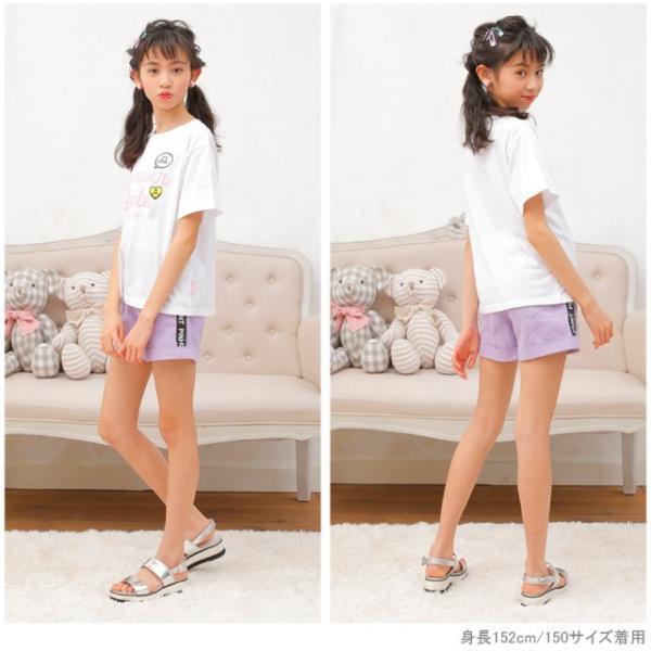 30%OFF SALE ベビードール BABYDOLL 子供服 PINKHUNT PH モチーフ Tシャツ 2502K キッズ ジュニア 女の子|babydoll-y|07