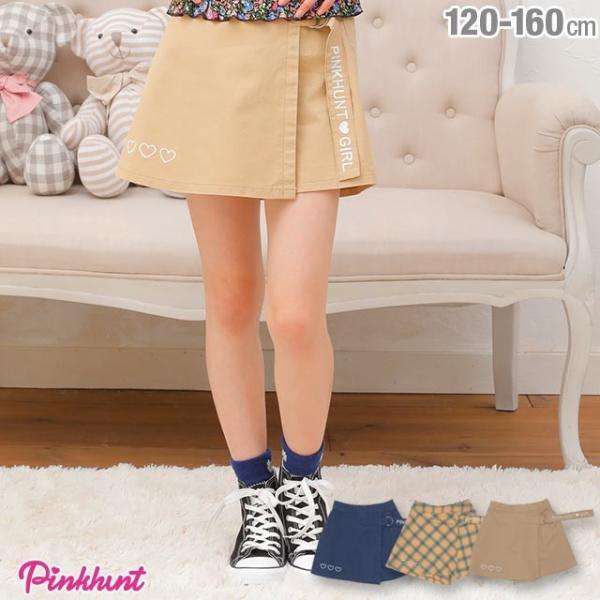 50%OFF SALE ベビードール BABYDOLL 子供服 PINKHUNT PH ラップ スカート風 ショートパンツ 2509K キッズ ジュニア 女の子|babydoll-y