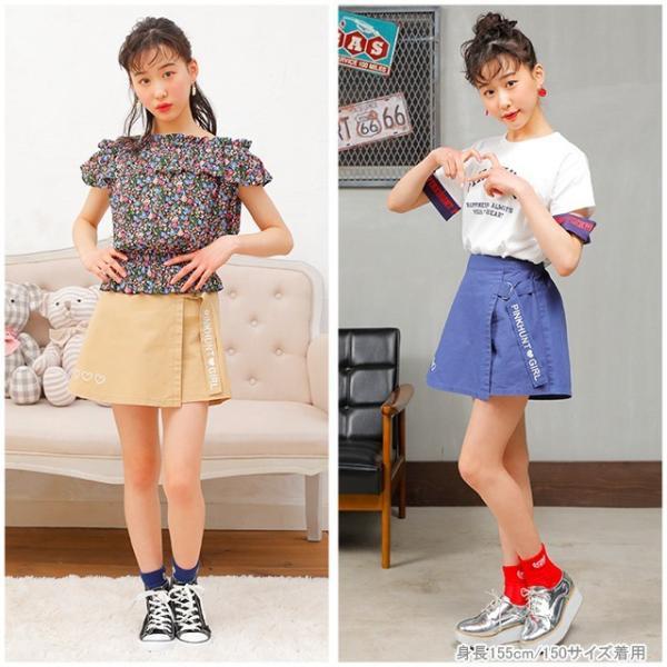 50%OFF SALE ベビードール BABYDOLL 子供服 PINKHUNT PH ラップ スカート風 ショートパンツ 2509K キッズ ジュニア 女の子|babydoll-y|07
