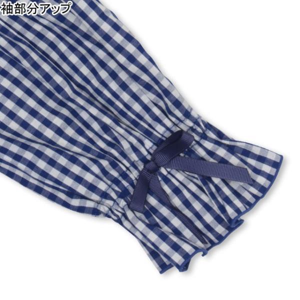 30%OFF SALE ベビードール BABYDOLL 子供服 PINKHUNT PH ギンガム チュニック Tシャツ 3142K (ボトム別売) キッズ ジュニア 女の子|babydoll-y|05