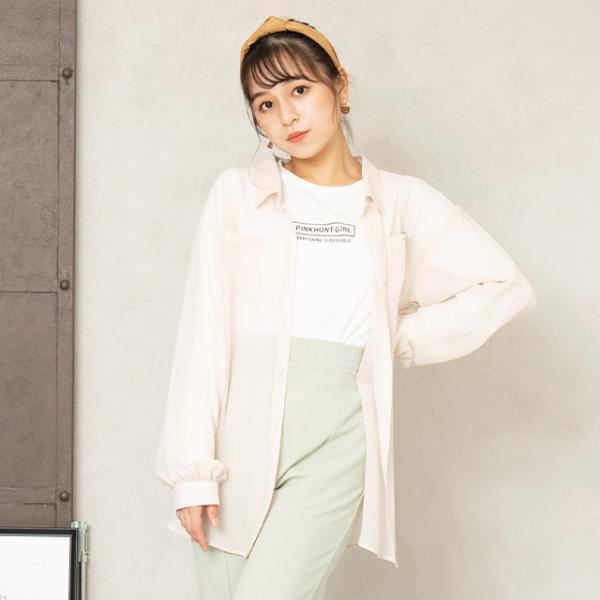 ベビードール BABYDOLL 子供服 PINKHUNT PH ロンT シアーシャツ セット 5843K キッズ ジュニア 女の子