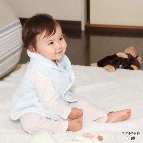 赤ちゃん ベスト 防寒 体温調節が苦手なベビーのための『くまさんあったかルームベスト』|babygoose|11