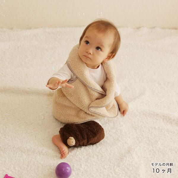 赤ちゃん ベスト 防寒 体温調節が苦手なベビーのための『くまさんあったかルームベスト』|babygoose|12