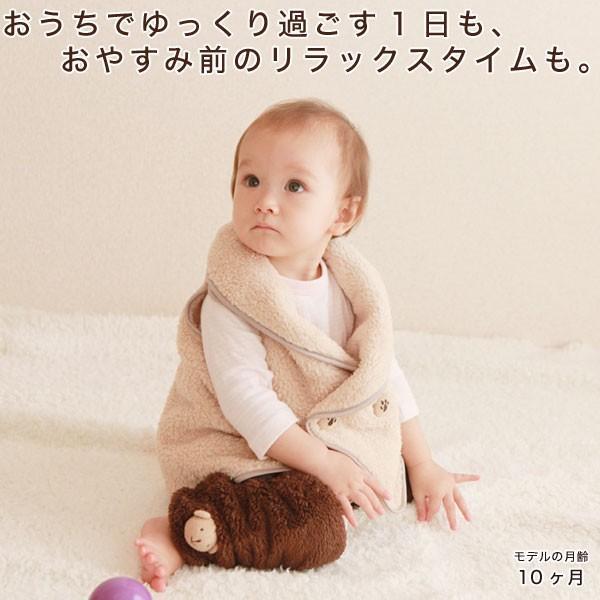 赤ちゃん ベスト 防寒 体温調節が苦手なベビーのための『くまさんあったかルームベスト』|babygoose|03