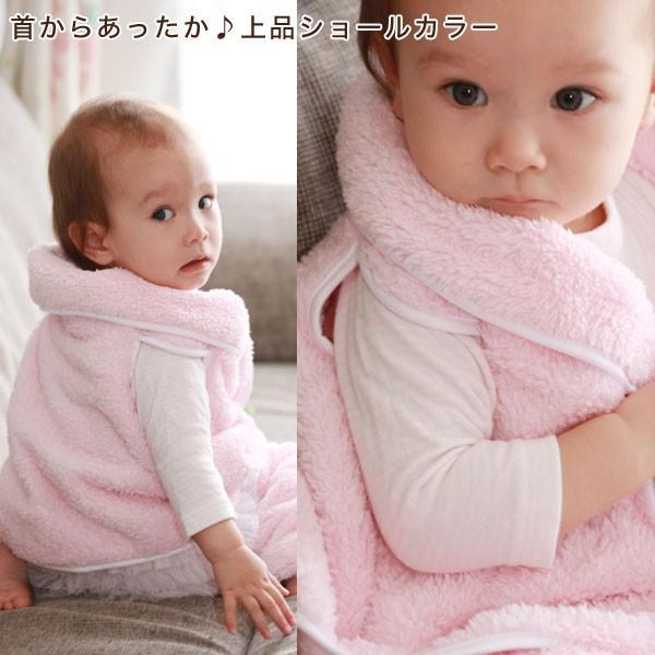 赤ちゃん ベスト 防寒 体温調節が苦手なベビーのための『くまさんあったかルームベスト』|babygoose|07