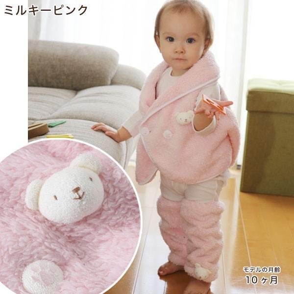 赤ちゃん ベスト 防寒 体温調節が苦手なベビーのための『くまさんあったかルームベスト』|babygoose|09