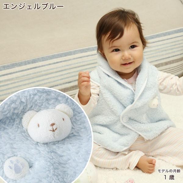 赤ちゃん ベスト 防寒 体温調節が苦手なベビーのための『くまさんあったかルームベスト』|babygoose|10