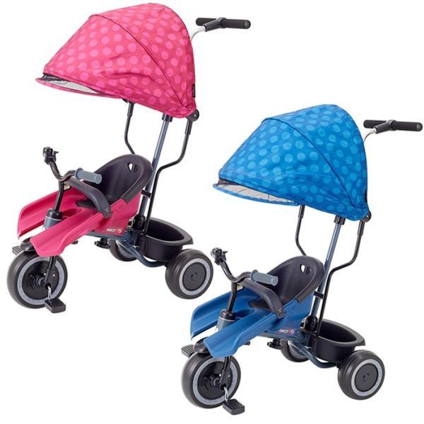 三輪車 エーシートSS  子供 サンシェード 押手棒付き シンプル 野中製作所 ワールド