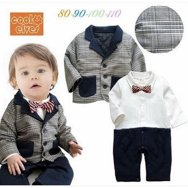 772998b876943 ベビー子供服0歳-3歳男の子用洋服タキシード フォーマルスーツ服 ...