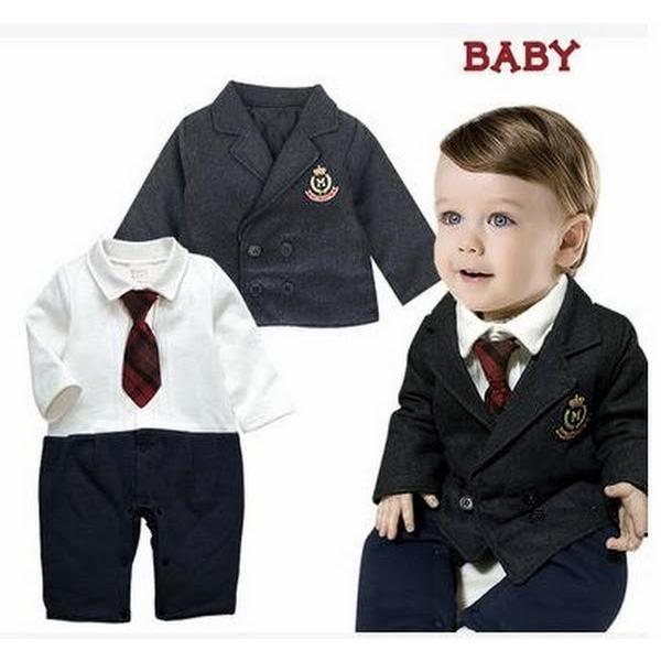 97f655b7f453e ベビー子供服0歳-5歳男の子兼用防寒 秋冬用 洋服タキシード フォーマル ...